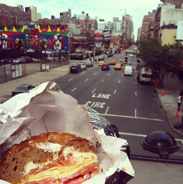 Murray's Bagel and High Line