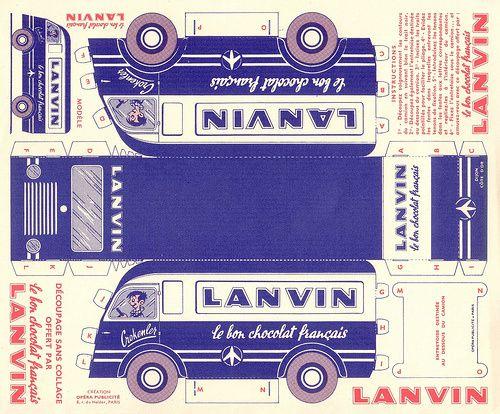 Planche vintage
