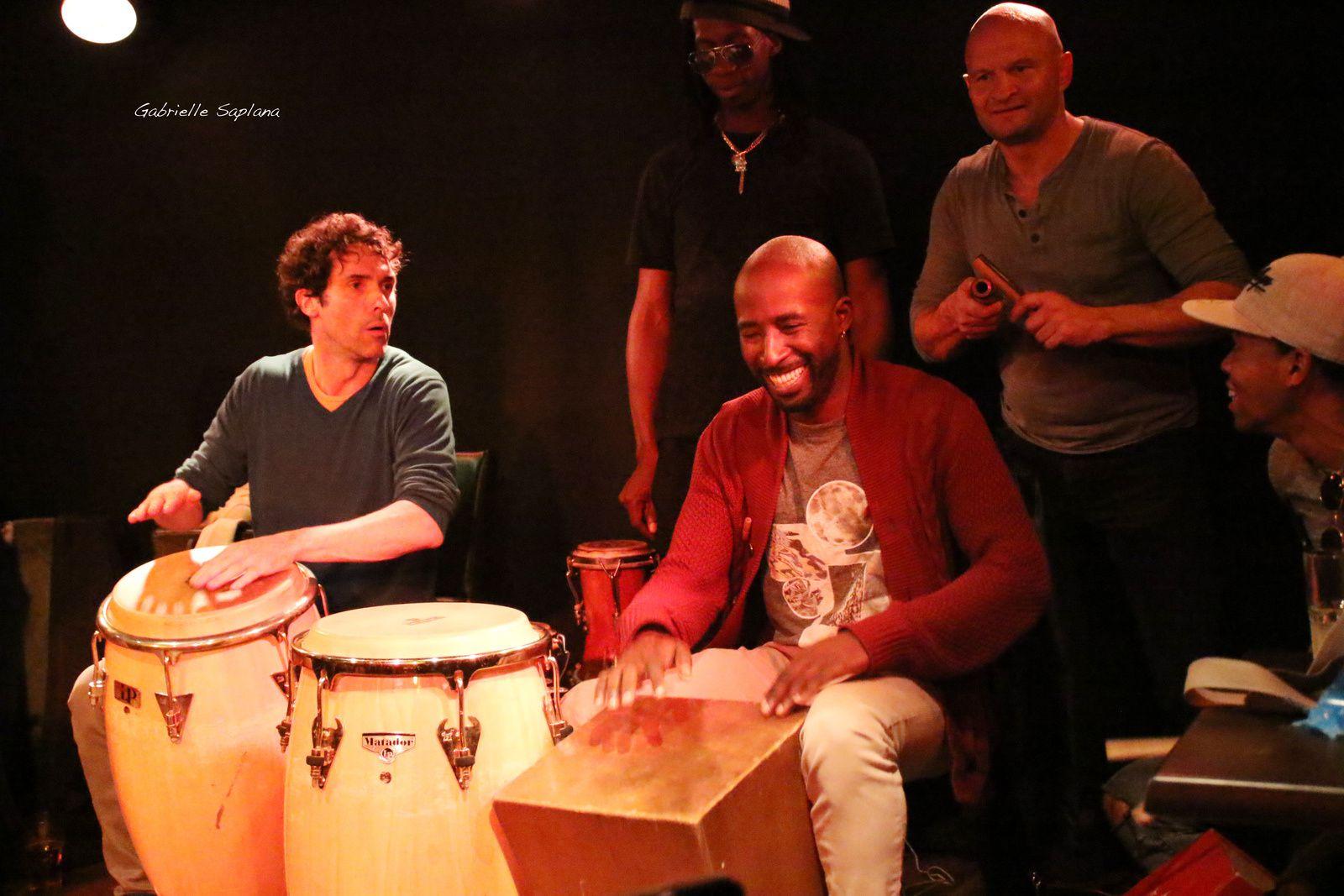 El trio peligroso, ADONIS PANTER CALDERON, Cuba, Le Taquin Toulouse 2017