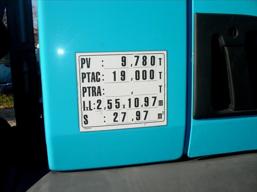 Camion Plateau Grue Premium 270 DCi Palfinger