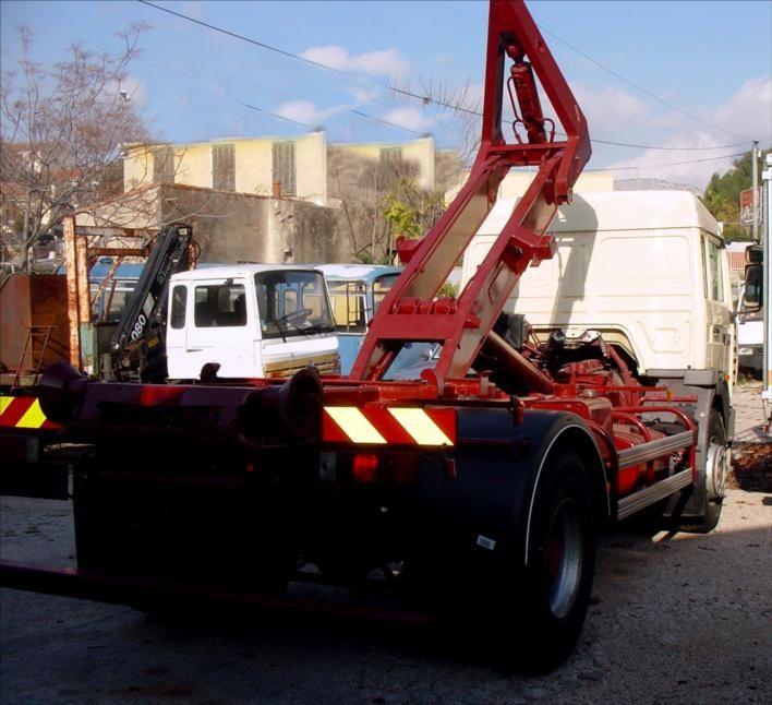 Camion RVI Midlinium 180 Empirolle Ampiroll Ampliroll Caisson