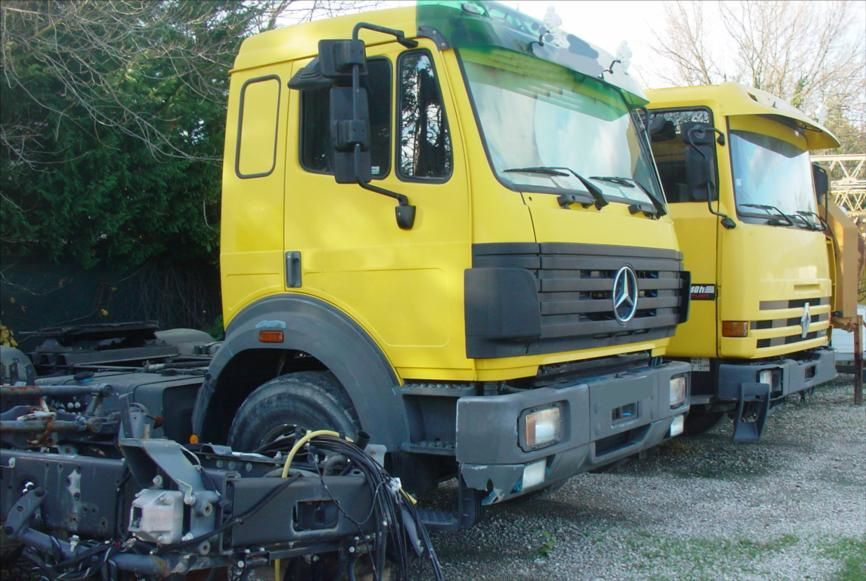 TRR Routier Mercedes Cabine Courte R340 Major