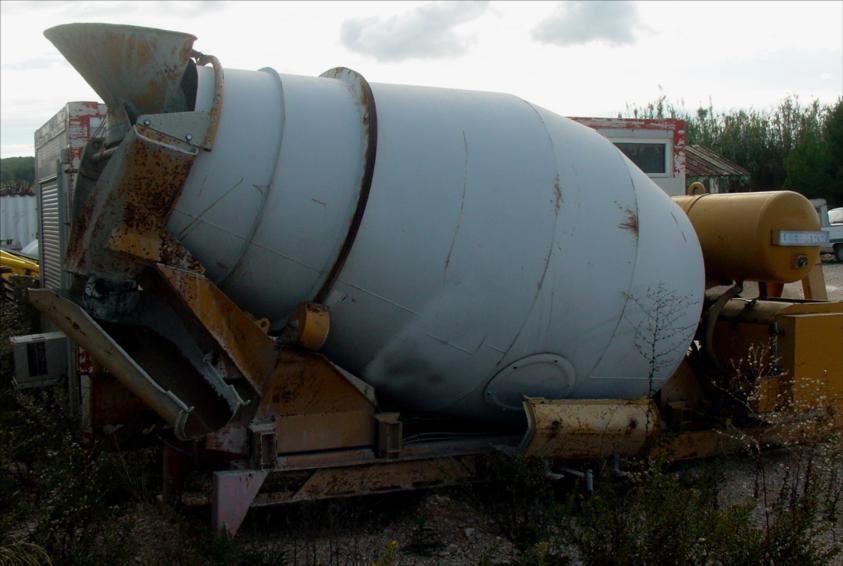 Malaxeur Sur Berce Liebherr pour camion 6x4