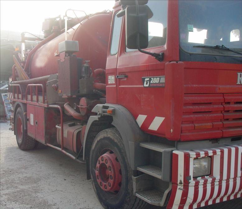 Camion Hydrocureur Renault G280 19t