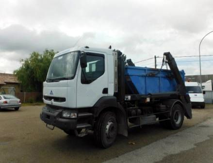 Camion KERAX 340 19t Multi Chaine + 4 Caissons