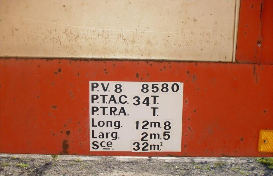 SREM Porte Engin Porte Char NooteBoom Trailor 3 Essieux Tel : 0608066192