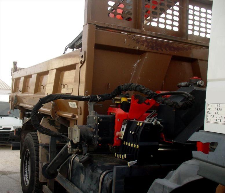 Camion Iveco Trakker 310 BiBenne Grue