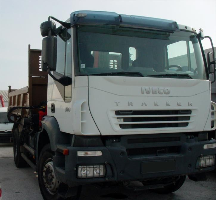 Camion Iveco Trakker 310 BiBenne Grue Tel : 0608066192