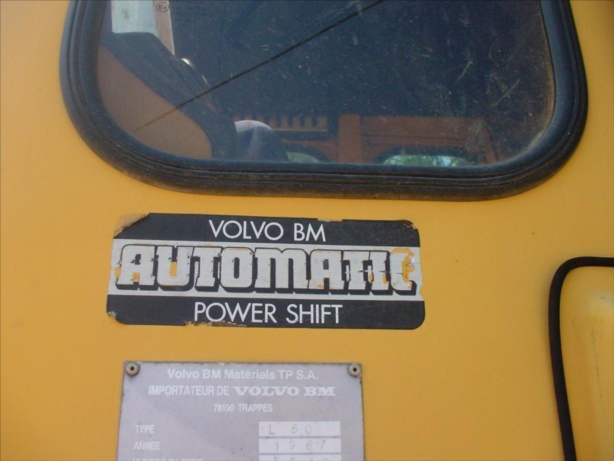 Chargeur Pneus Volvo BM L50