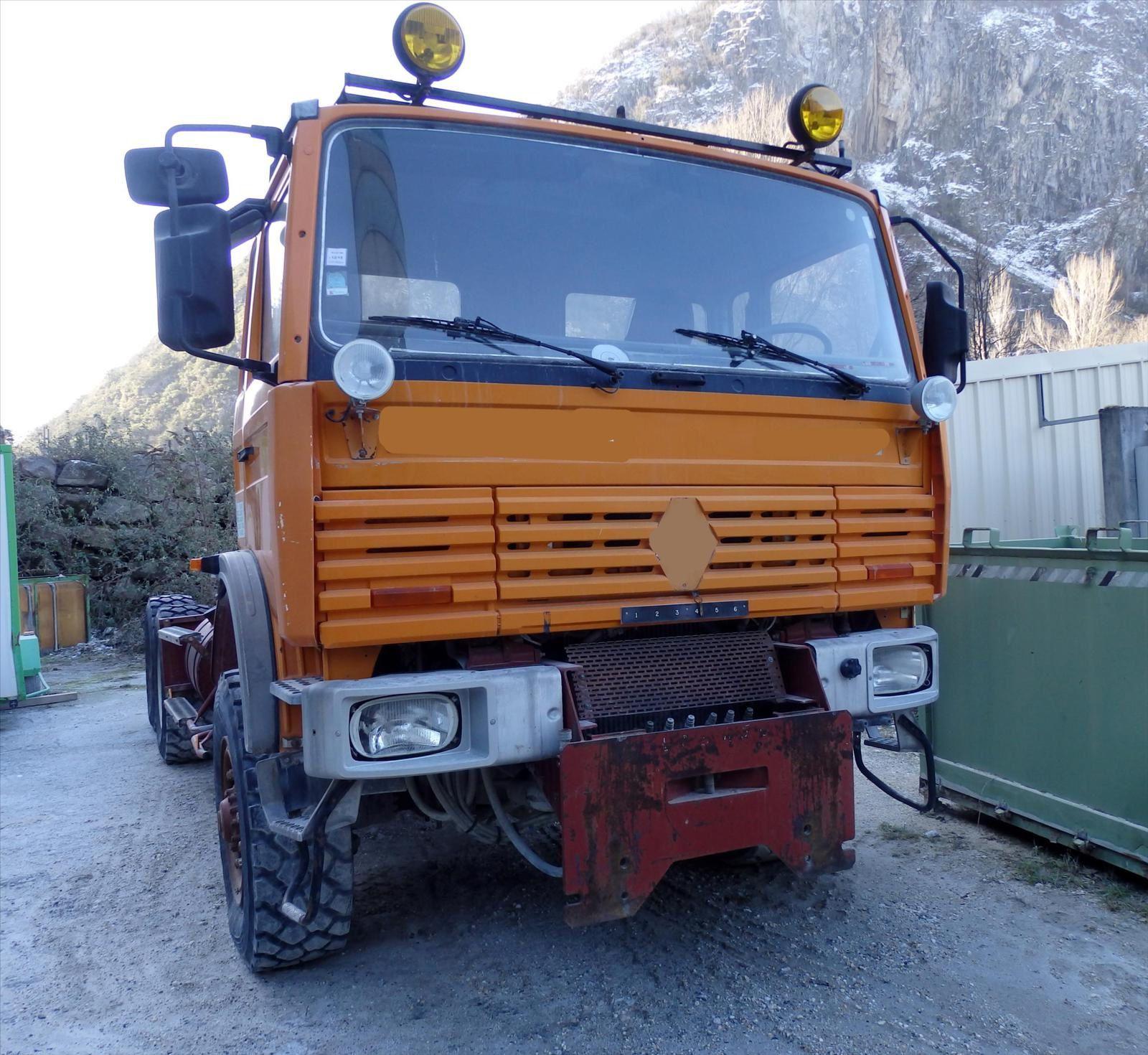 Camion THOMAS Renault  6x6  Pierre BASSAT TRANSCOMM13 Tel: 0608066192