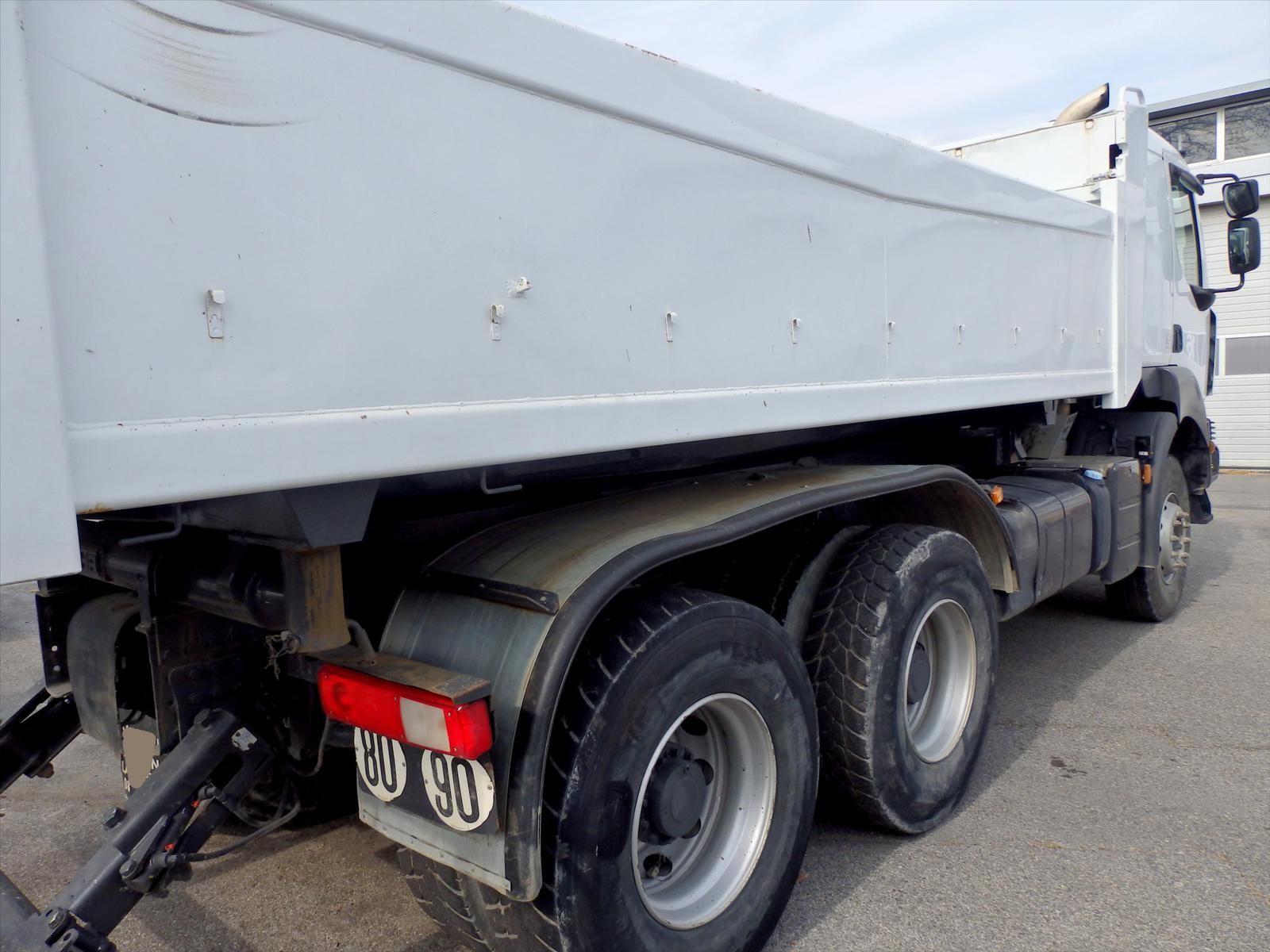 Camion KERAX 410 6x4 BiBenne Hydraulique RVI Renault Tel: 0608066192 Pierre BASSAT Trans.Comm.13