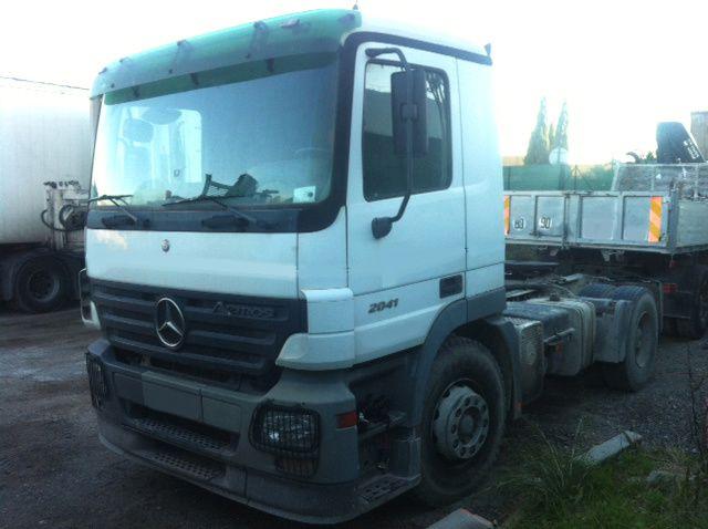 Camion Mercedes Actros 2041 BASSAT Pierre 0608066192 TRANSCOMM13