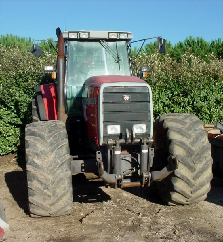 Tracteur Agricole MF 8160 Massey Fergusson Tel : 0608066192 TRANS.COMM.13