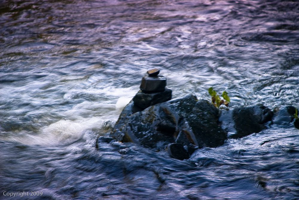 water-cairn