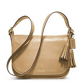 Coach Online Exclusive: Legacy Leather Patricia in Sand