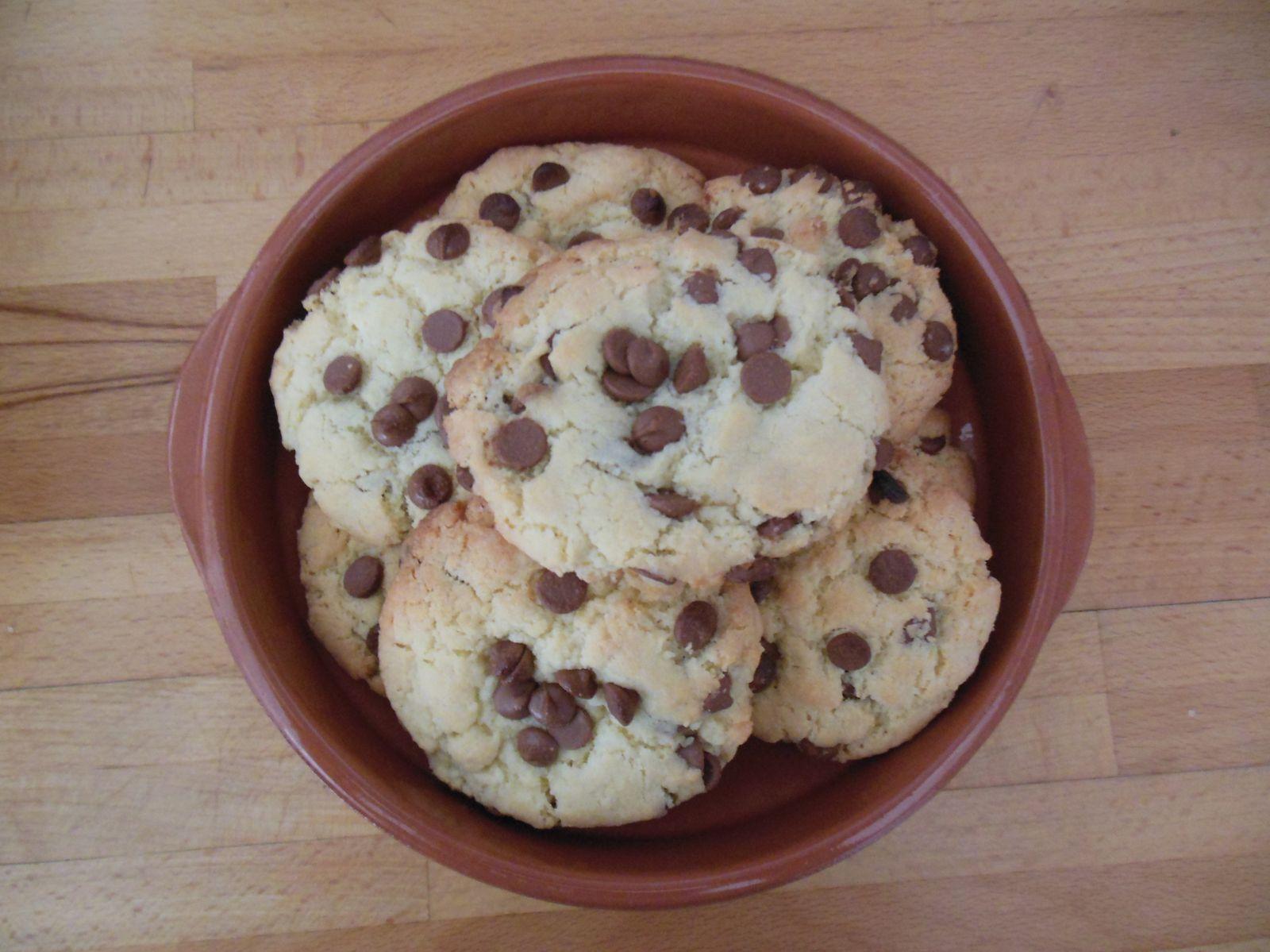 Recette : Cookies aux pépites de chocolat
