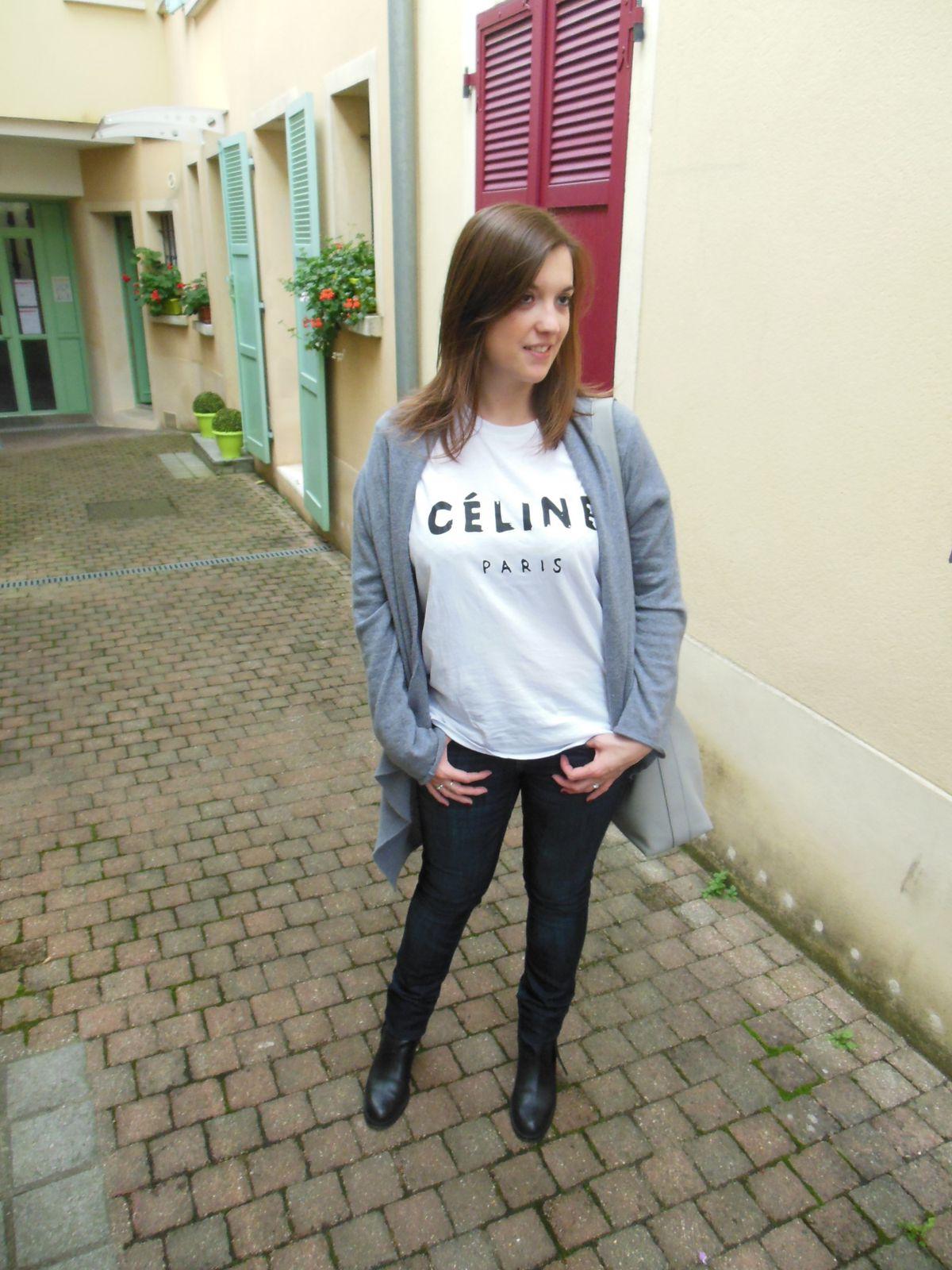 Gilet - Les Petites... /// T-shirt - Etsy /// Jean - H&M /// Pistols Boots - Acne /// Legacy bag - Coach