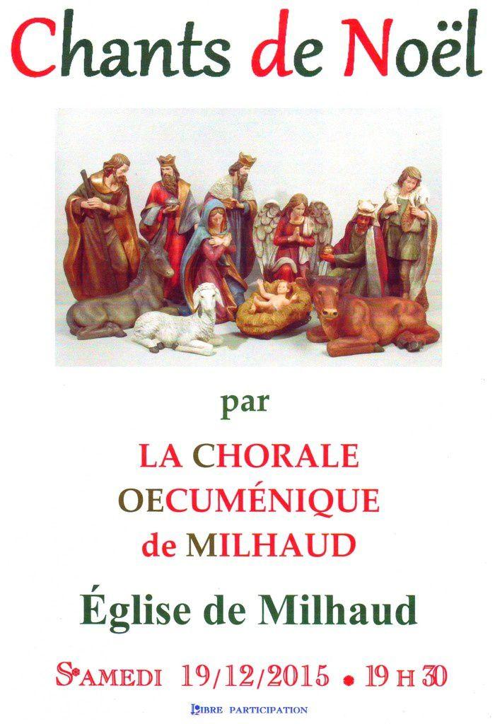 La chorale Œcuménique Chante Noël