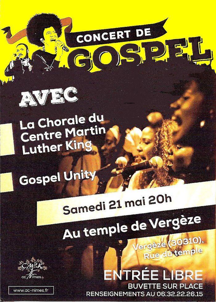 Concert au temple de Vegèze