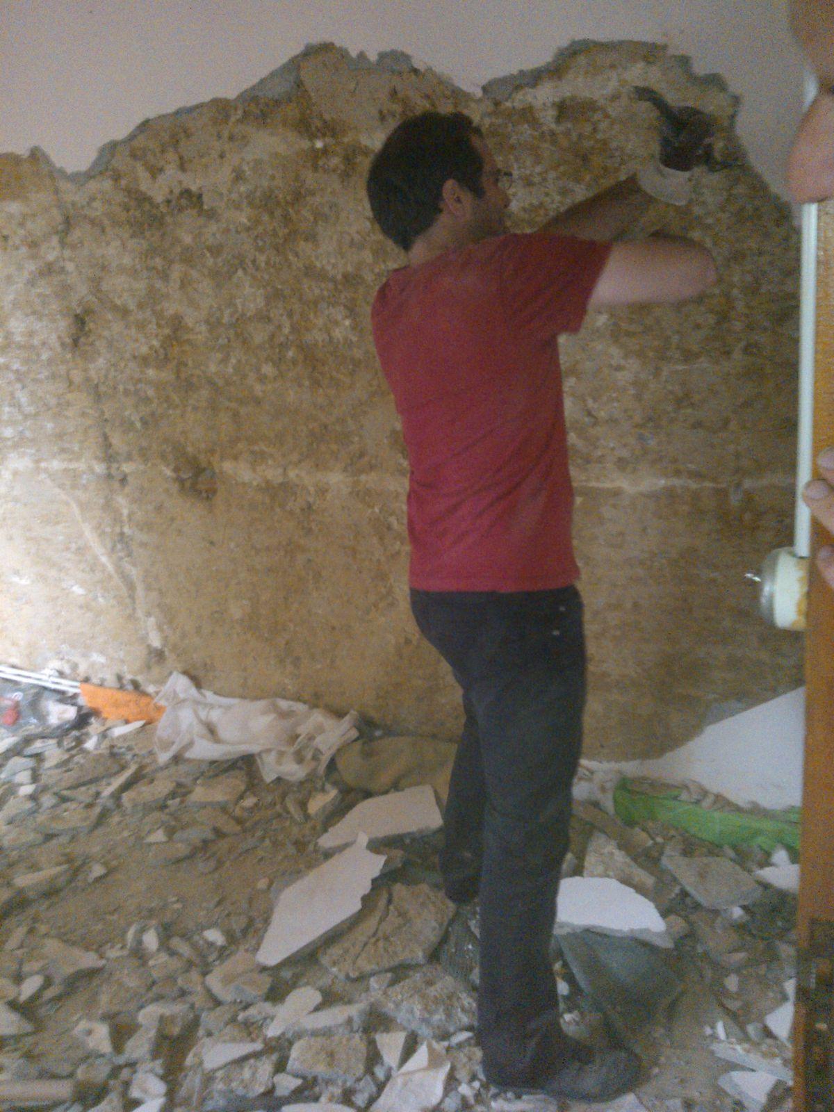 Spécial dédicace aux DS qui n'ont pas été exempté de venir au Piron pour les travaux forcés et tout ça après une dure soirée!!!