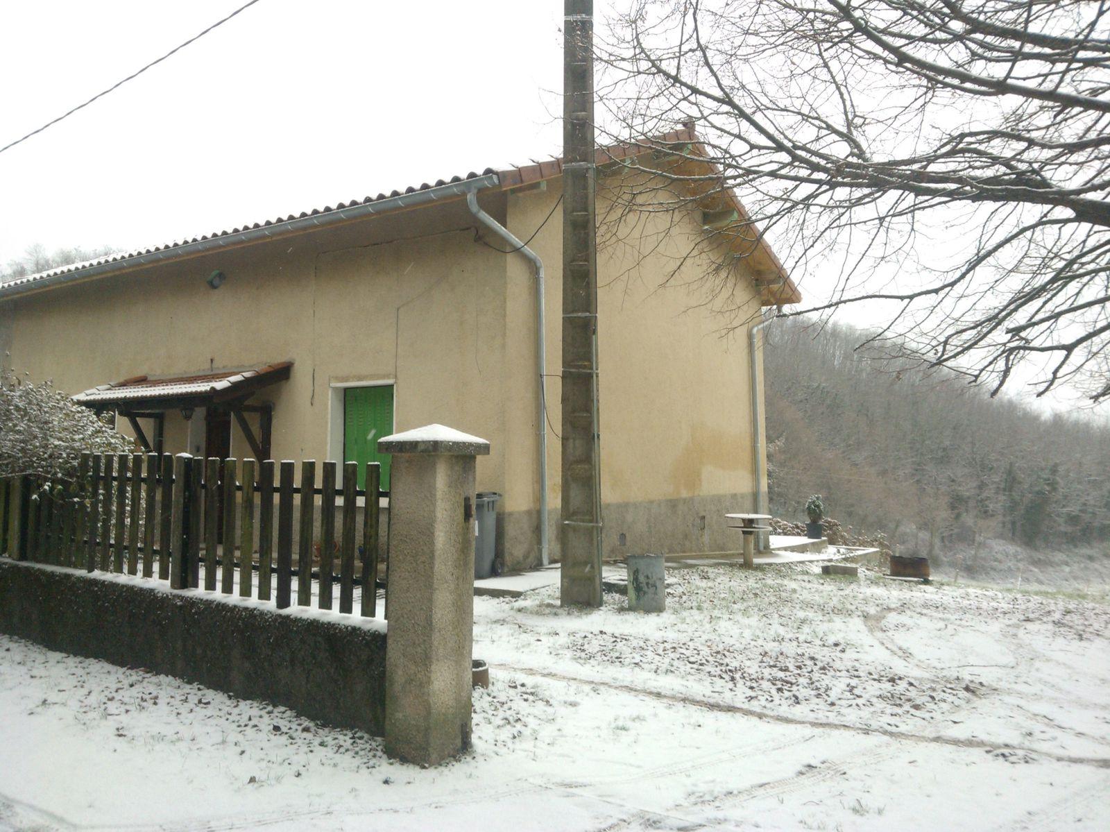 Premières neiges au Piron !