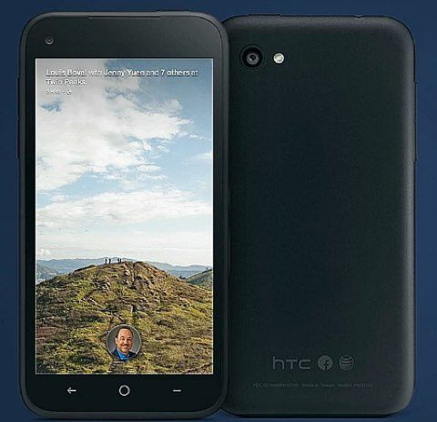 Facebook Home e HTC First, il social network sposa Android