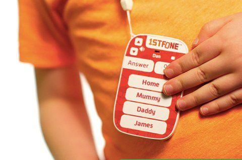 1stfone, il telefono costruito per i bambini