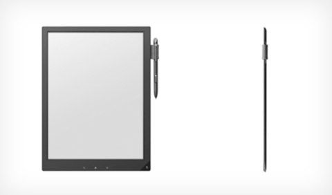 Sony Digital Paper, il tablet da 13,3 pollici