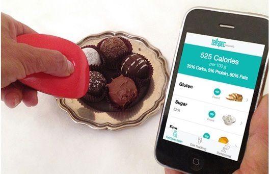 TellSpec, il sensore per smartphone che ti dice tutto sul cibo