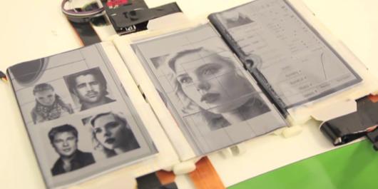 PaperFold, il prototipo del telefono con 3 schermi