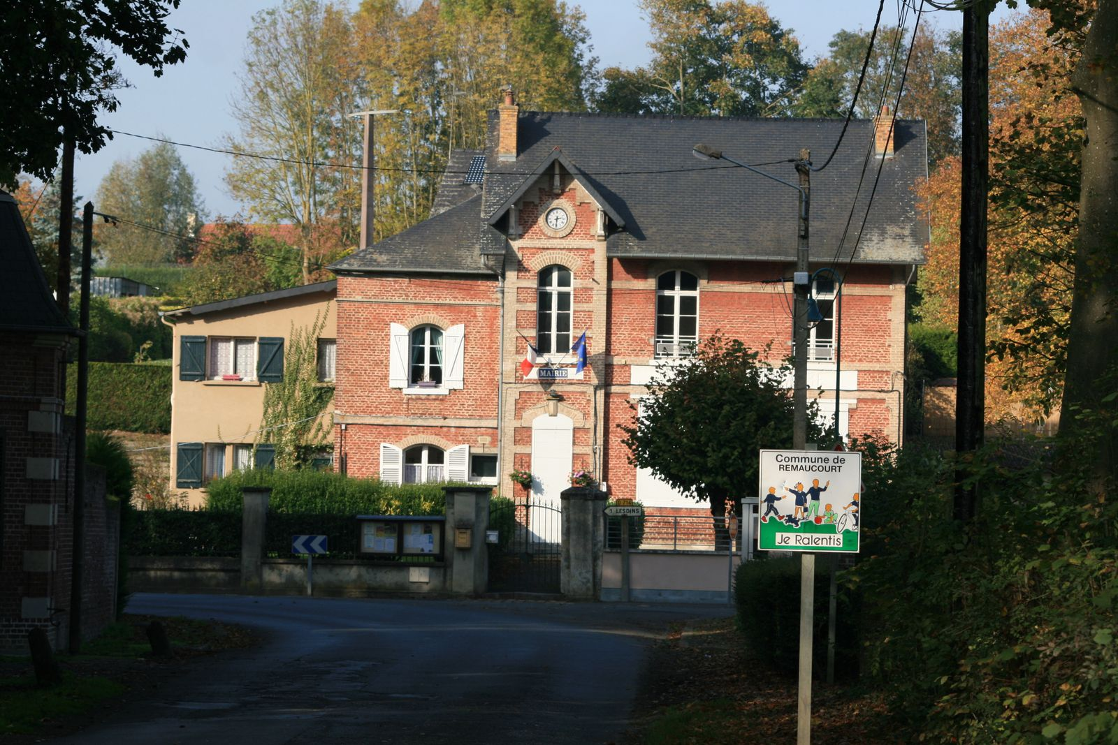 Mairie de Remaucourt