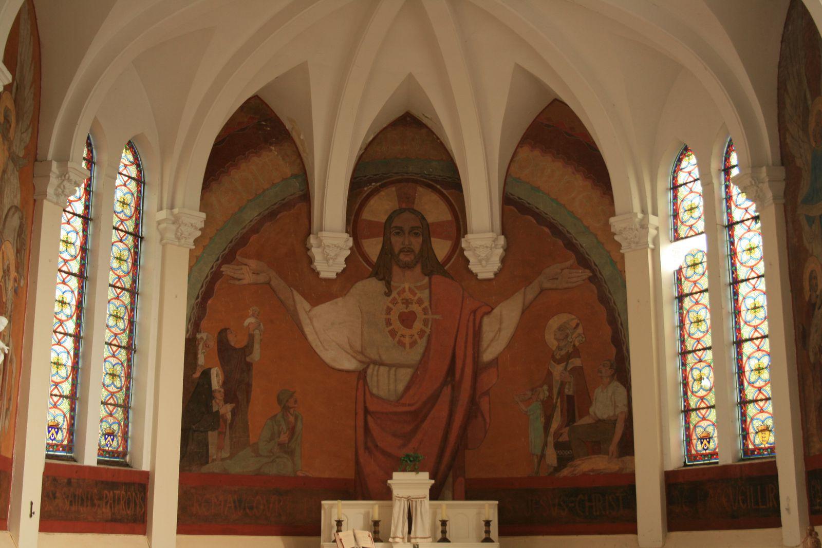 Un trésor méconnu sur les murs de notre église