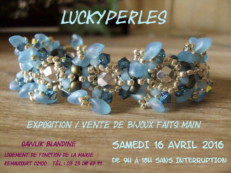Remaucourt samedi prochain, une expo-vente de bijoux faits main.