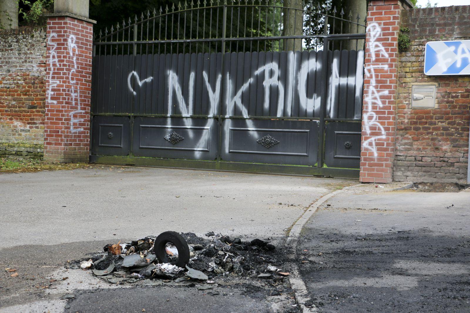 Acte de vandalisme cette nuit dans la commune.