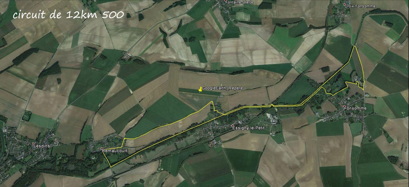 Direction les sources de la Somme, puis le pont de Croix.