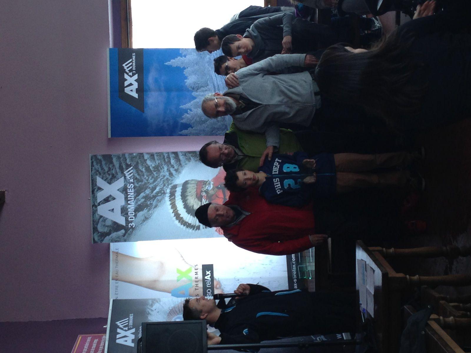 Challenge des journalistes à AX-LES-THERMES
