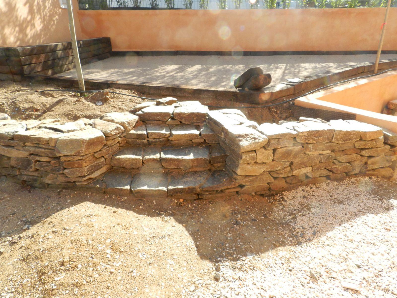 Aménagement d'un jardin à Grimaud