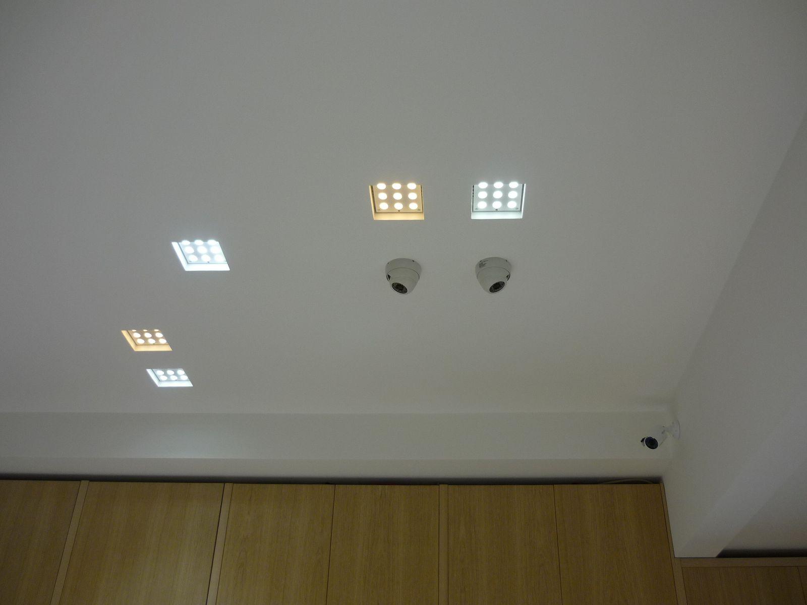 Impianto elettrico e illuminazione - Gioielleria
