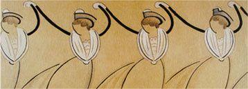 Le 14 avril Acantari exposera des costumes provençaux à Vauvenargues
