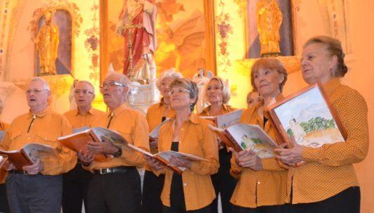 Nous chanterons au Festival de théatre Provençal à Fuveau