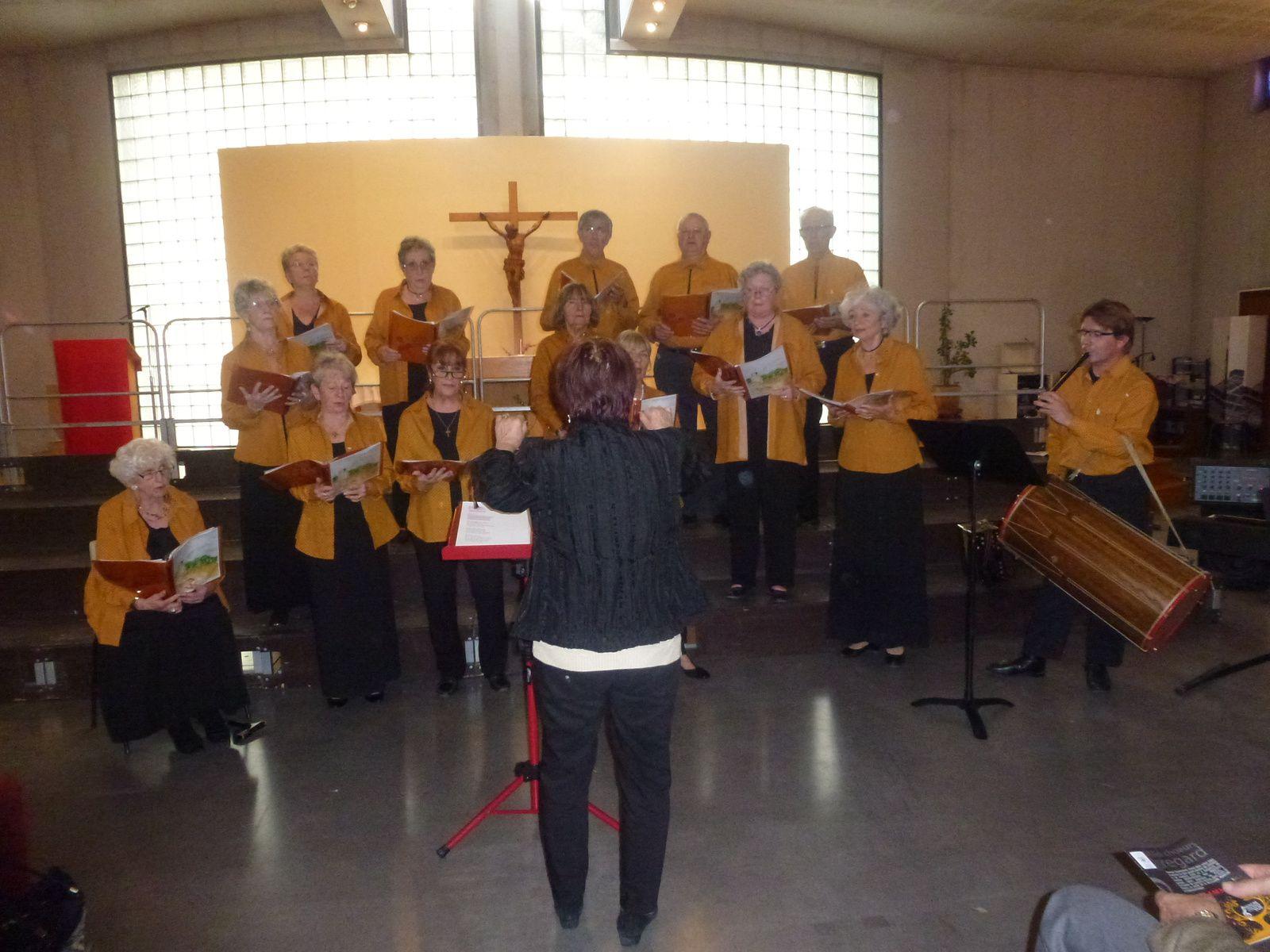 Nous avons chanté pour Retina... L'enregistrement du concert.