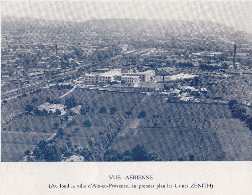 Aix en 1940