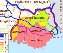 Les dialectes provençaux