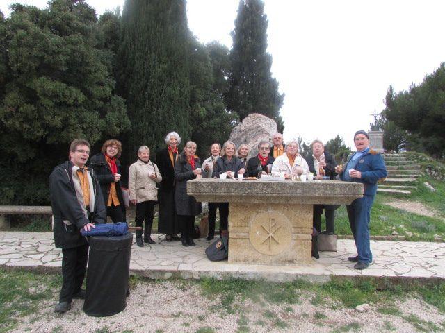 Nous avons chanté la Pastorale à Marignane le 28 décembre