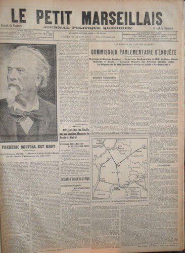 25 mars 1914, Maillane