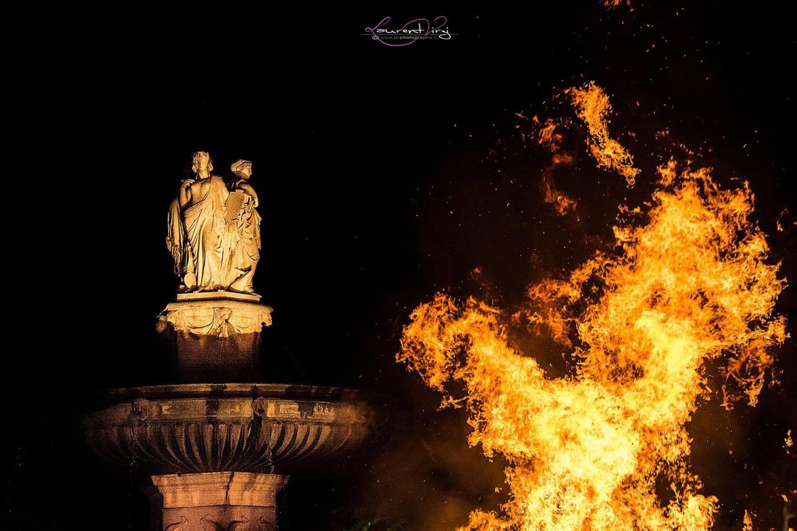 23 juin 2017 Feu de la Saint Jean à Aix