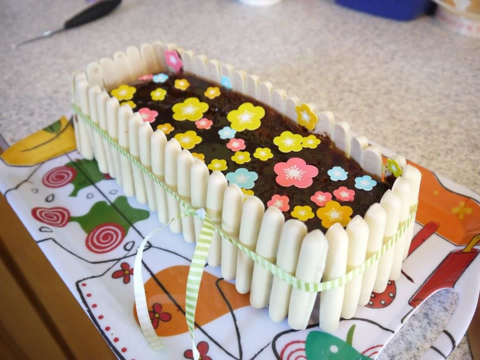 Happy B part 2 (gâteau jardinière)