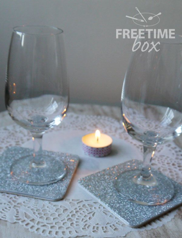 Dessous de verre - DIY- Freetime box