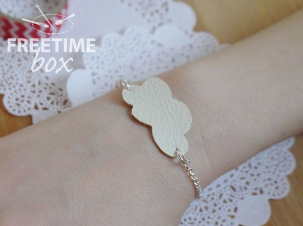 Bracelet simili cuir- DIY- Freetime box