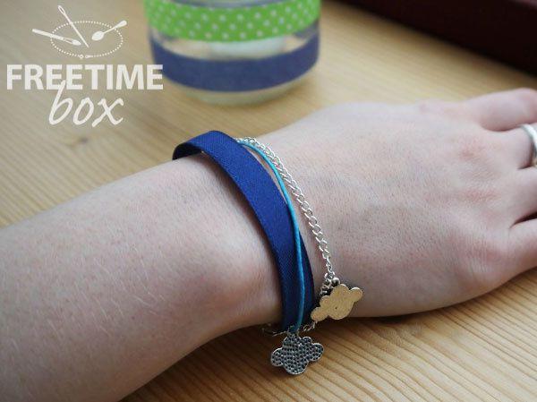 Bracelet multi rangs- DIY-Freetime box